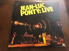 JEAN-LUC PONTY LIVE VINYL LP ATLANTIC