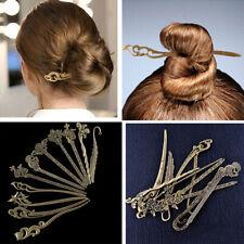 Elegant Women Wedding Hair Accessories Headpiece Hair Sticks Pins Bridal Jewelry