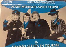 ALAIN MORISOD/SWEET PEOPLE Tape Cassette 16 GRANDS SUCCES EN TOURNEE 1990 Kosmos