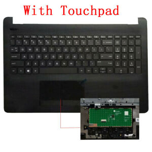 FOR HP 15-BS 250 G6 255 G6 256 G6 TPN-C129 TPN-C130 Keyboard US Palmrest COVER