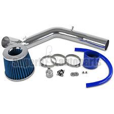 Fit 1999-2005 Golf Jetta MK4 1.8T 2.0L Cold Air Intake Aluminum Pipe+Blue Filter