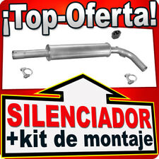 Silenciador Intermedio SEAT VW 1.9 SDi TDi TD 1.4 1.6 1.8 2.0  Centro Escape KKA
