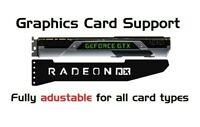 RADEON - LONG - Colour - GPU Anti-Sagging Support Bracket NVIDIA AMD GTX RTX