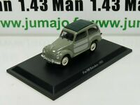 IT67N Voiture 1/43 Hachette collection : FIAT 500 Belvédère 1952