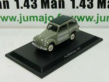 IT67N Voiture 1/43 Hachette collection : FIAT 500 Belvédère 1952