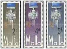 Timbres Médailles Malte 352/4 ** lot 14044