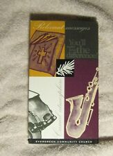 Evergreen Community Church Bloomington Plymouth Lakeville VHS Tape