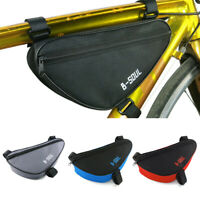 B SOUL Triangle Cycling Bike Bicycle Front Tube Frame Pouch Bag Holder Bags