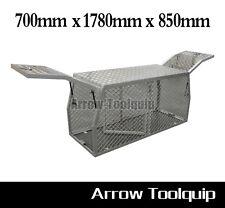 Aluminium Canopy Toolbox Cab Ute Dog Cage Tool Box  - 700 x 1780 x 850 mm