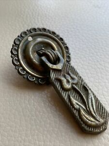 Antique Ironmongery Drawer Handle 1900s Victorian Cast Iron 6 Available