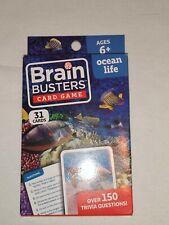 Brain Busters Card Game Ocean Life New