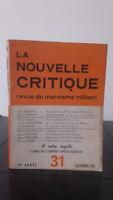 La Nueva Crítica - Revista D'Un Marxismo Militant - Diciembre 1951-4ème Año