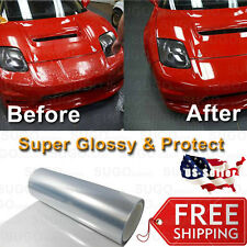 "60""x12"" Clear Bra Paint Protection Film Vinyl Wrap Invisible Scratch Shield"