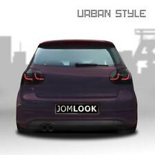 2 JOM LED Rückleuchten R/L Heckleuchten Schwarz VW Golf 5 Limousine Sport-Look
