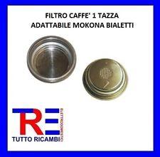 FILTRO CAFFE' 1 TAZZA ADATTABILE MOKONA BIALETTI MK122