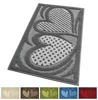 Tappeto cucina bagno scendiletto 50x80 antiscivolo assorbente antisporco cuori