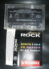 MC Tape Cassette REPUBBLICA L'America America Del Rock Assagio Di 40 Minuti