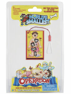 World's Smallest OPERATION Board Game Toy Miniature