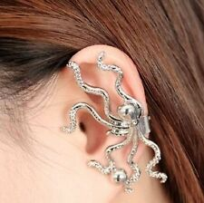 Alloy Clip - On Costume Earrings without Stone