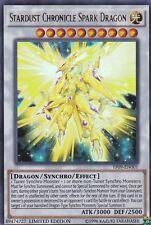 Yugioh Stardust Chronicle Spark Dragon YF09-EN001 Ultra Rare