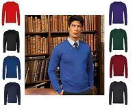 Men's Workwear Business Office Corporate Wear Knitted Sweater Pullover Jumper