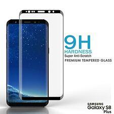 100% GENUINE VETRO TEMPERATO PELLICOLA protezione schermo LCD per Samsung Galaxy S8 Plus
