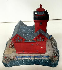 HOLLAND MICHIGAN #407 Retired Harbour Lights  Great Lighthouses of the World