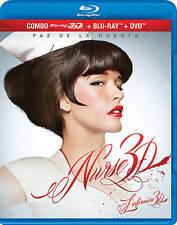 NEW BLU RAY 3D + 2D +DVD - NURSE 3D - Paz De La Huerta (Boardwalk Empire)