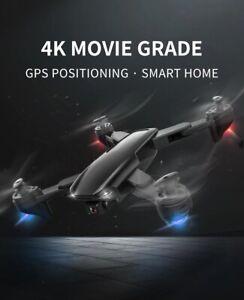 Mini Dron with 4K HD Dual Camera Optical GPS 5G WiFi FPV Foldable RC Quadcopter.