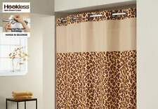 Hookless® Plain Weave Animal Shower Curtain | Includes Snap On/Off new