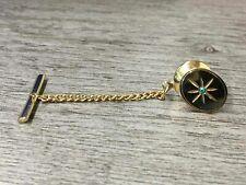 Jewelry Tie Tack Pin 14K Yellow Gold Men's