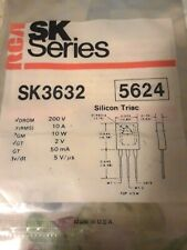 Rca Sk3632 Triac 200Volt 10Amp To-127 Repl Nte5624, Ecg5624 sk