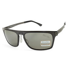 Serengeti Ferrara 7896 Crystal Charcoal/Grey Polarised Mens Sunglasses