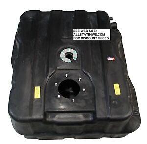 Ford Super Duty 40 Gallon Diesel Plastic Fuel Tank F250 F350 F450 F550 w/6 bolt