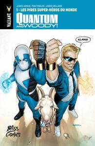 COMICS - QUANTUM AND WOODY > TOME 1 / BLISS COMICS, VALIANT