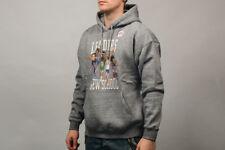 K1X Leaders of New School Hoodie Men's Grey Sportswear Activewear Hoody Top