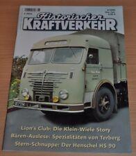 Historischer Kraftverkehr HIK 6/06 Henschel HS 90 Terberg Klein Wiele Story