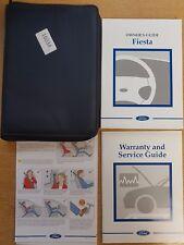 FORD FIESTA HANDBOOK OWNERS MANUAL WALLET 1999-2001 PACK 16034