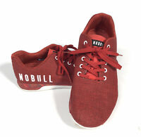 NoBull Red Training Workout Shoes SuperFabric Men's Size 11 Women's 12.5 Mint!