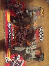 Transformers Star Wars Millennium Falcon Hasbro 2006 Han Chewie RARE