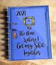 Friends Purple Door Inspired Cover Set 4 Use With Happy Planner