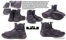Nike Men's Lebron 'Soldier 10' Triple Black Basketball Shoes 844374: Size 13 M