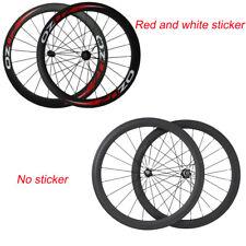 Lightweight Carbon Wheels Road Bike Wheels 50mm Clincher Bicycle Wheelset 700c