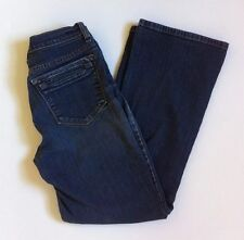 NYDJ NOT YOUR DAUGHTERS JEANS Womens Blue Medium Wash Denim Blue Jeans Size 2P