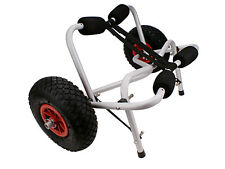 New Boat Kayak Canoe Carrier Dolly Trailer Tote Trolley Transport Cart Wheel