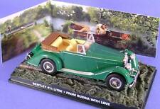 BENTLEY 4 1-4 LITRE FROM RUSSIA WITH LOVE BOND 007 1/43