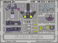 Eduard Zoom fe274 1/48 McDonnell F-f-15c Eagle HASEGAWA