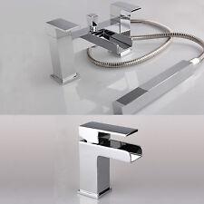 Mezclador de Ducha Baño Cascada & Juego Grifo de lavabo