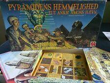 HTF VINTAGE jumbo pyramidens hemmelighed game 1989 pyramid tut ankh amons haevn