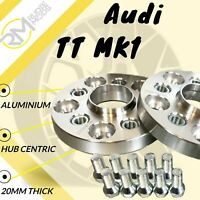 Audi TT MK1 20mm ALLOY Hubcentric Wheel Spacers 1 pair
